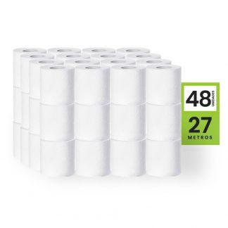 papel higienico doble hoja 27 metros