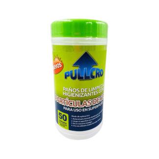 paños humedos desinfectantes con nano cobre 50 unidades pullcro